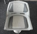 เก้าสี เทา Screw Foldihg Seat